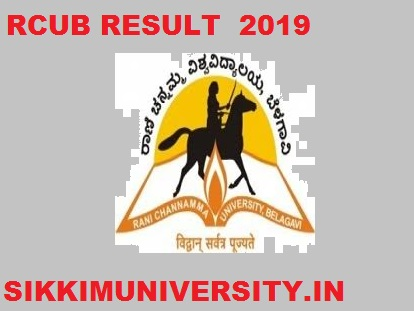 RCUB 2nd, 4th, 6th, 8th Sem. Results 2021, Rani Channamma University Part I, II, III year Sem Result 2021 1