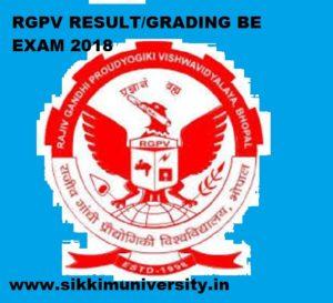 RGPV BE Results 2019 Semester Exam Non Grading/Grading Result @www.rgpv.ac.in 1