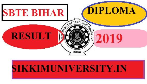 Sbtebihar.gov.in SBTE Bihar Diploma Polytechnic 2/4/6 Sem Result June 2021 1