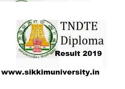 TNDTE Polytechnic April Result 2021- Tamil Nadu Diploma Result 2021 Part I, II, III @tndte.com 1