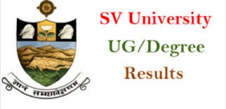 SVU 2nd, 4th, 6th Semester Degree Results 2018 BA, BCom, BSc