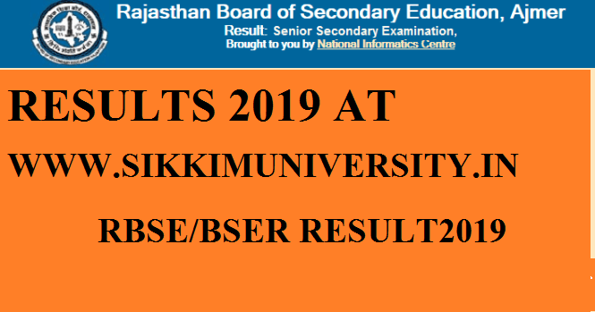 Rajasthan Board of Secondary Education, Ajmer 10th Result March 2020 Coming Soon 1