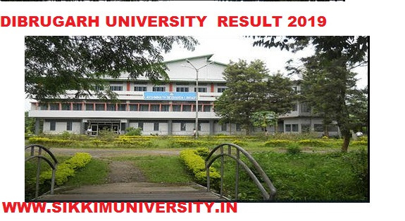 Dibrugarh University 2/4/6 Sem Result 2021 for BA BCOM BSC Exam at Dibru.ac.in 1