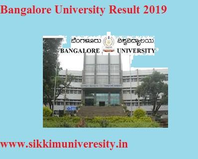 Bangalore University 2nd 4th, 6th Sem Result May-June 2020, @Bangalore University 1