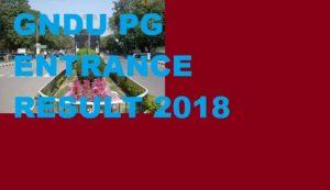 GNDU M.Sc M.Com MA Entrance Result 2020 MPED MBA M.Tech LLM Counseling Dates 1