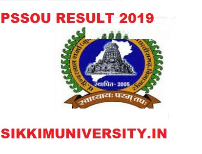 PSSOU Result 2020 BA BSC BCOM MSC MA MCOM Part Ist, 2nd, 3rd Year Results 1