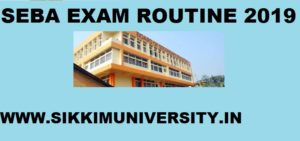 Asam HSLC Exam Routine 2020, SEBA 10th Exam Date sheet 2020 download Pdf 1