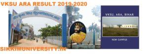 VKSU Result 2019-20 BCOM, BA, BSC B.Ed, M.SC Examination Results 1