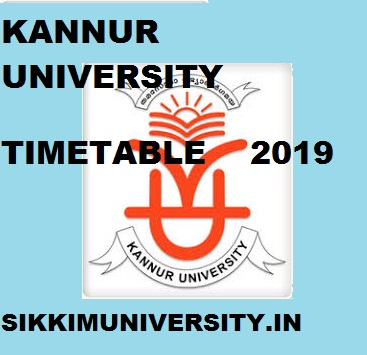 Kannur University Exam Schedule 2020 BA BSC BCOM Exam Time Table/Date sheet 1