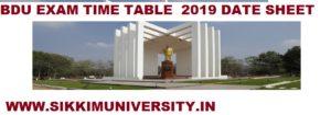 Bharathidasan University Time Table April 2021 Check UG PG Exam Schedule 1