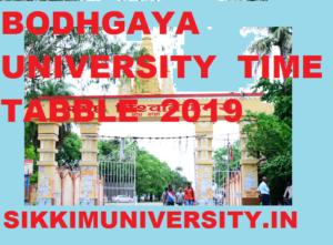 Magadh University UG/PG Exam Schedule 2020 Ist, 2nd, 3rd Year BA BSC BCOM MA MCOM Exam 1