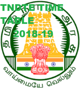 TNDTE Diploma Sem. Time Table 2018-19 - www.tndte.gov.in, DOTE Oct. Exam Date pdf 1