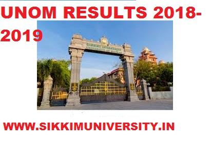 UNOM Result 2021, Madras University Part 1/2/3 Year UG/PG Exam Result Download 1