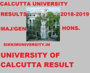 Calcutta University Results 2021 (Gen/Major/Hons) Exam, CU BA BSC BCOM Results at caluniv.ac.in 2020 1