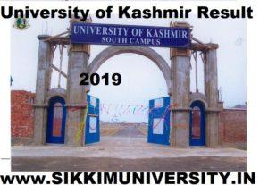 Kashmir University April/May Result 2020 - Kashmiruniversity.net BA BCOM BSC Name Wise Result 1