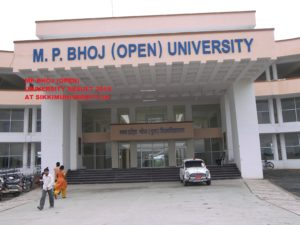 Bhoj Open University Result 2020 Part I, II, III BA BSC BCOM 1