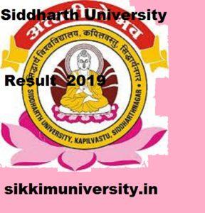 Siddharth University BA BSC BCOM Results 2021, Kapilvastu University Ist, 2nd, 3rd year Result 2021 1