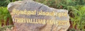 Thiruvalluvar University Time Table Nov./Dec 2021 Download Exam Schedule/Date Sheet Odd Sem. 1