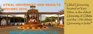 Utkal University 1st,3rd, 5th Nov/Dec Result 2021 Semester Results to be Released 1