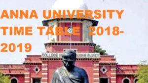 Anna University DDE Date Sheet 2021, Anna University Timetable 2021 UG & PG R08/R13 1