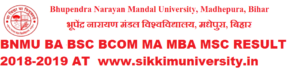BN Mandal University Madhepura Part 1,2, 3 MA MCOM MSC BA BCOM BSC Results 2020 1