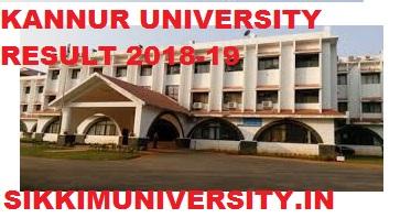 Kannur University 1/2/3/4/5/6/7/8 Results 2020 Part 1, 2, 3 Year Result Distance/Regular UG/PG Exam 1
