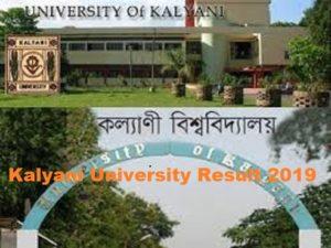 Kalyani University Part I, II, III BA BSC BCOM Result 2021 at Klyuniv.ac.in 1