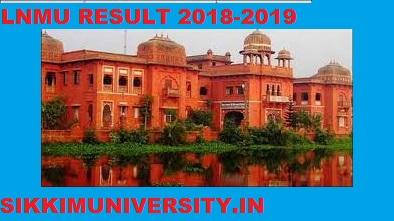 LNMU Result 2020, LN Mithila University  part 1/2/3 Year BA BSC BCOM MA Result 1