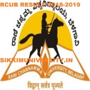RCUB Result 2020 Rani Channamma University  Annual Semester Results 1