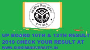 UP Board Results 2019 Declared Name Wise/Roll No Wise at Upresults