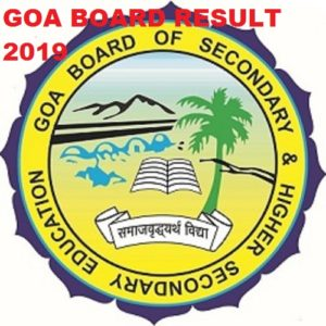 GOA Board Results 2021 Name Wise/Roll No. Wise HSSC & SSC Results at Gbshse.org 1