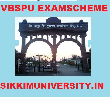 VBSPU Schedule 2020, Purvanchal University Part 1/2/3 Year UG/PG Time Table 2020 1