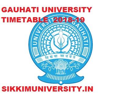 Gauhati University Time Table 2021, GU Ist, 3rd, 5th Sem Exam Routine 2021 1