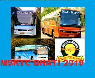 MSRTC Bharti 2018-19 Carrier, Assistant Mechanic, Driver