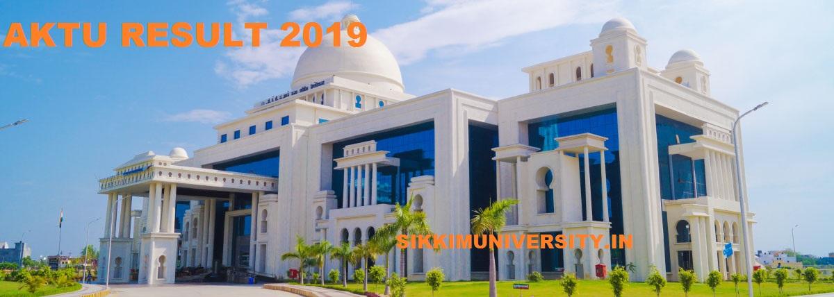 AKTU 1/3/5/7 Sem. Result 2019-20, UPTU Odd Semester Results at @aktu.ac.in 1