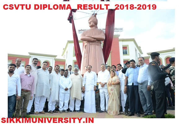CSVTU Result Nov/Dec 2020- CSVTU Diploma  Odd/Even Sem Results 2020 1