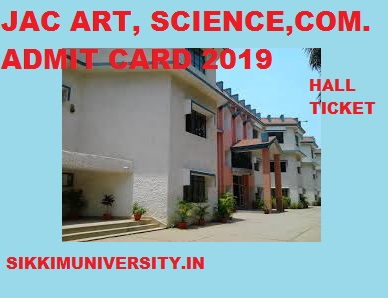 JAC 12th Science, Commerce, Arts Admit Card 2021 Intermediate Name Wise Hall Ticket 1