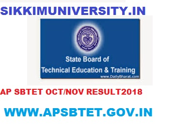AP SBTET Diploma Nov. Exam Result 2019- AP Diploma 1/3/5 Sem Nov. Exam Result Name Wise 2019-20 1