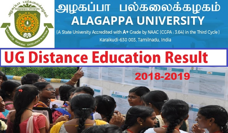 Alagappa University Result 2021 Ist, 2nd 3rd Year Latest BA BSC BCOM Exam Result 2