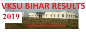 VKSU Bihar Results 2019 MA, BA, MSC, BCOM, BSC, MCOM - वीर कुंवर सिंह यूनिवर्सिटी, बिहार ने UG/PG के परिणाम जारी 1