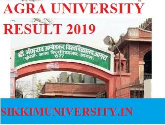 Agra University Scrutiny Result 2018-2019 - DBRAU  BSC, BA, BCOM Revaluation Result 2019 Date 1