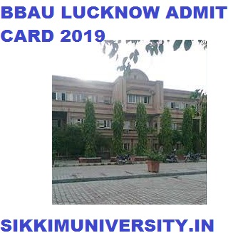 BBAU MA Previous & Final Year Hall ticket 2020, Private & Regular Name Wise Admit Card 1