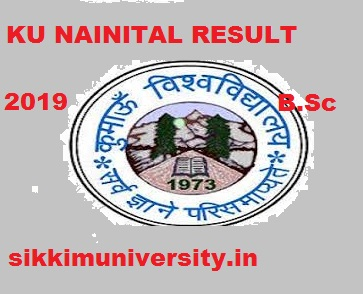 KU Nainital BSC Ist, 2nd, 3rd Year Result 2020, Kumaun University  B.Sc Part I, II, III Yr. Result 2020 1