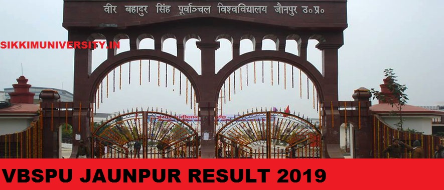 VBSPU Jaunpur Ist, 2nd, 3rd Year Result 2021 BA BSC BCOM MA Name Wise Roll No. Wise 1