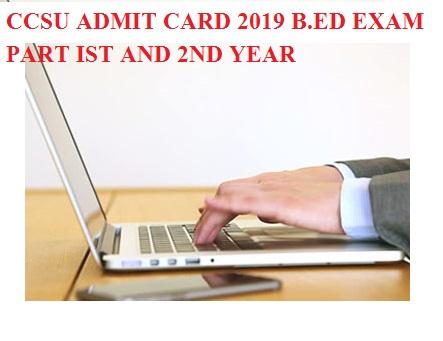 CCSU Ist, 2nd, 3rd year result 2020 BA BSC BCOM Exam , CCS University  Part I, II, III Year UG Result 2020 2