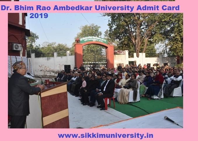DBRAU B.Com Ist, 2nd, 3rd Year Admit Card 2021, Download Agra University UG Hall ticket 2021 Name wise 1
