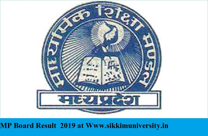 MP Board 10th Grade Marks/Merit List/Result 2020, Madhya Pradesh HSC Result Date expected 12 May 2