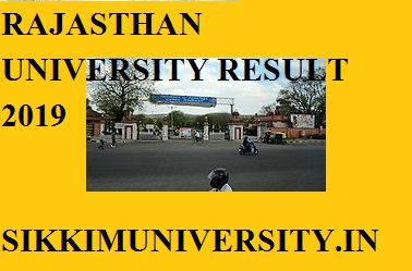 Rajasthan University B.Com IIIrd Year Result 2019 TODAY, R.U B.Com Final Year Result Name wise 1