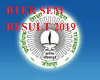 BTER Jodhpur Ist Year Result 2020, BTER Jodhpur Polytech. First Year Name Wise Result 2020 1