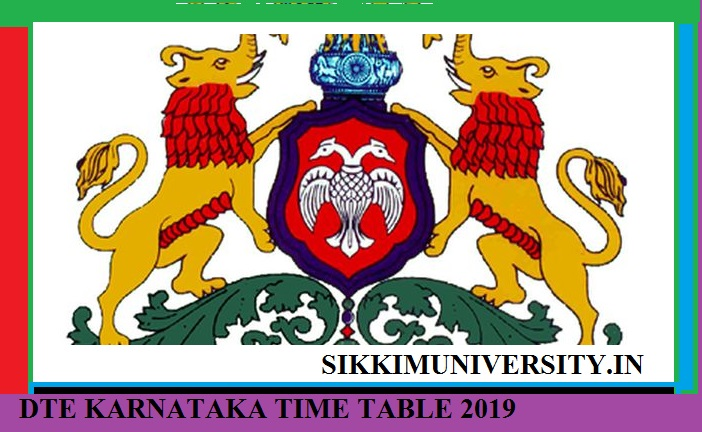 DTE Karnataka Diploma Sem. Time Table 2020 - Download BTELINX 2- 4- 6 Sem. Date Sheet Exam Dates 2020 1